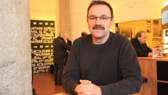 Ueli Buchmüller war letztmals Anlaufstation für die Filmtage-Leute im Landhaus.