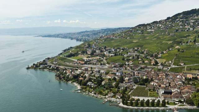 In der Genferseeregion wurde Bauen billiger: Cully am Lac Léman