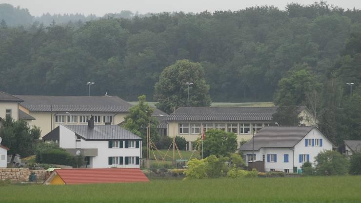 Die Schulanlage Unterbözberg wird saniert