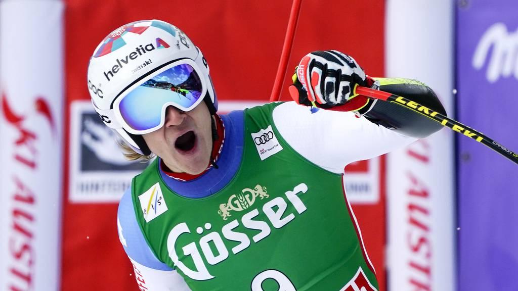 Marco Odermatt gewinnt mit sensationeller Bestzeit – Feuz wird Vierter