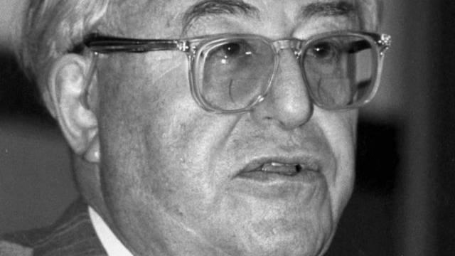 Dieter Bührle auf einem Bild aus dem Jahre 1990 (Archiv)
