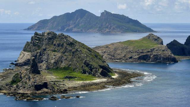 Drei der umstrittenen Inseln im Südchinesischen Meer (Archiv)
