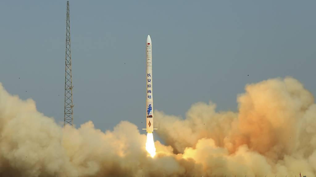 Raketenstart einer privaten Raumfahrtfirma in China gescheitert