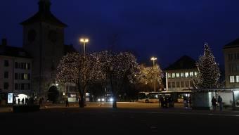 Weihnachtsbeleuchtung Solothurn 2014