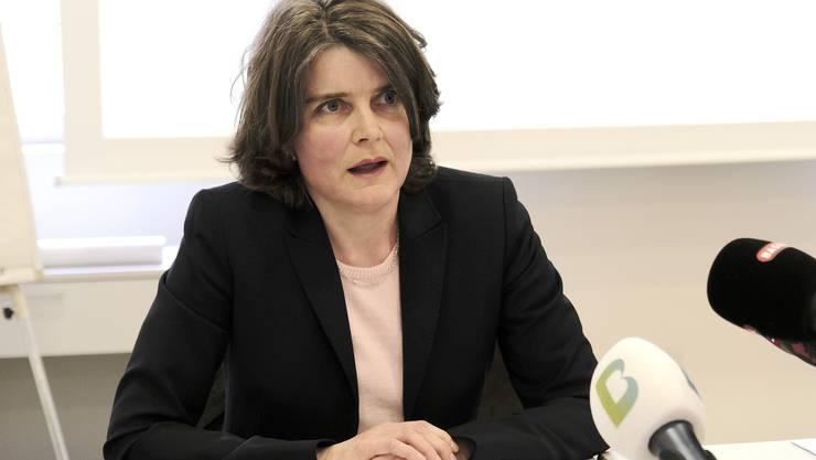 «Die Massnahme war gut – sie erreichte ihr Ziel»: Baselbieter Sicherheits-Direktorin Kathrin Schweizer.