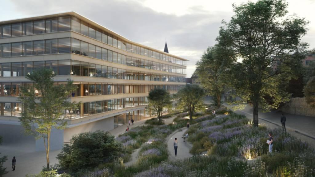 Zürcher Architekt gewinnt Wettbewerb für neuen HSG-Campus