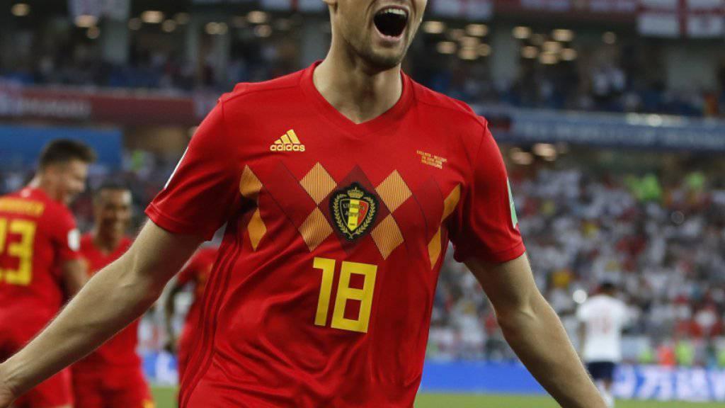 Adnan Januzaj schoss Belgien in der 51. Minute auf die Siegesstrasse