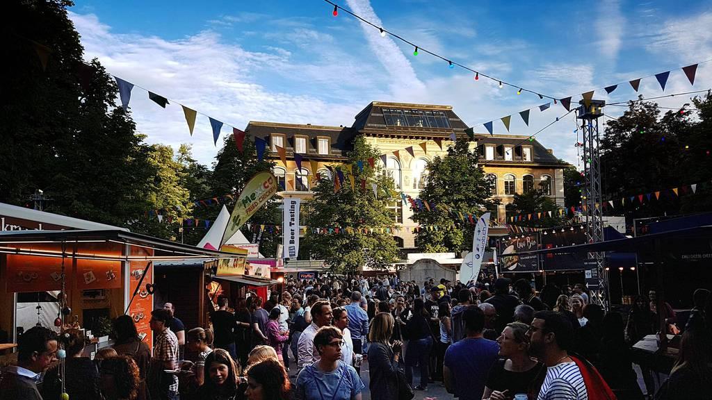 Das Streetfood Festival findet zum vierten Mal statt.