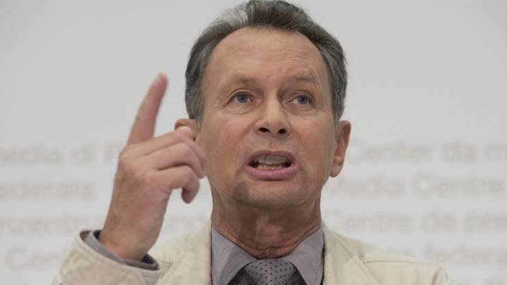 FDP-Präsident Philipp Müller kritisiert die SP.