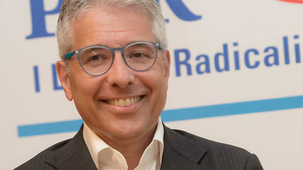 Zwischenzeitlich hatte es sehr knapp ausgesehen: Am Ende konnte sich der bisherige Tessiner FDP Ständerat Fabio Abate aber gegen den Lega-Herausforderer Battista Ghiggia durchsetzen. (Archiv)