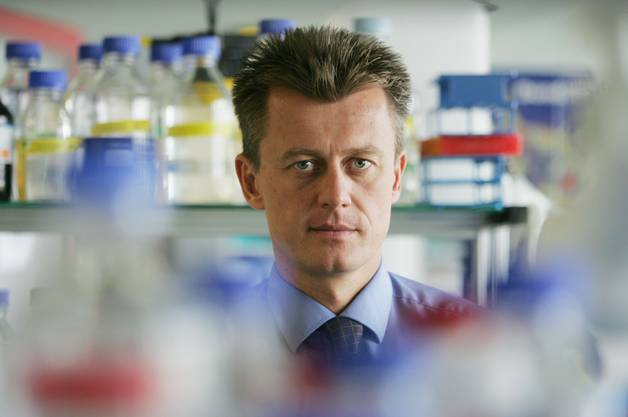 Wolfgang Renner, CEO of Cytos Biotechnology AG. 2005.