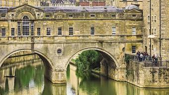 Die heilende Wirkung des Wassers gab der Kurstadt ihren Namen: Bath.
