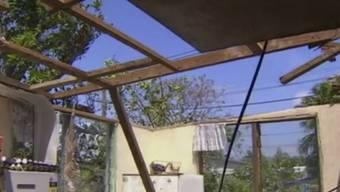"""Im südpazifischen Inselstaat Tonga richtete Zyklon """"Gita"""" vergangene Woche teils schwere Schäden an. (Archivbild)"""