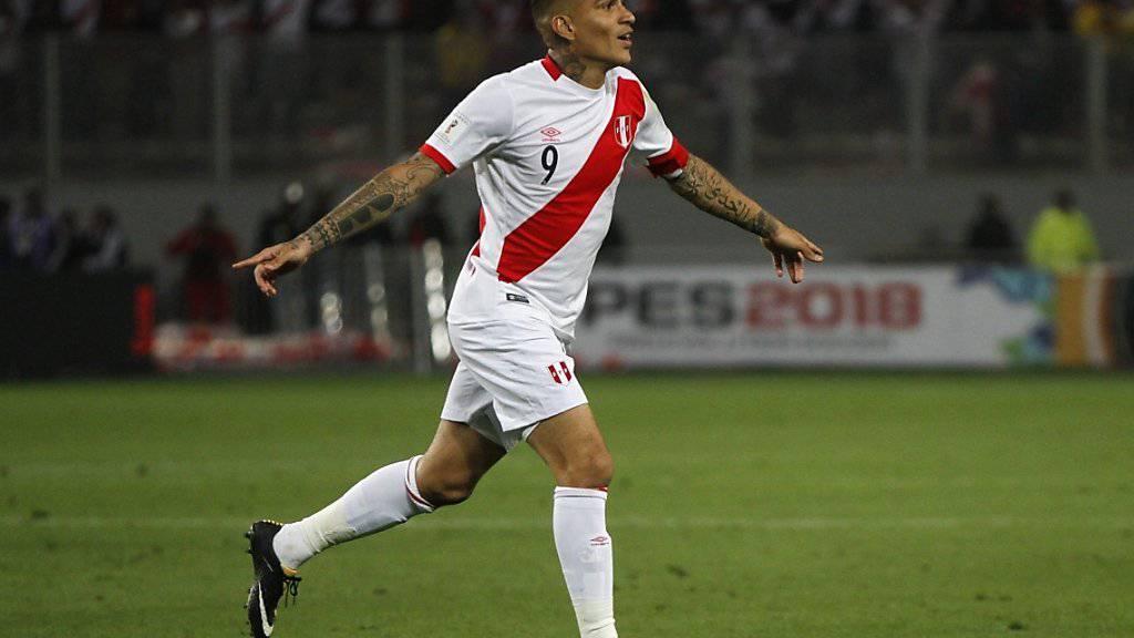Perus Captain Paolo Guerrero darf nun doch an der WM 2018 in Russland teilnehmen