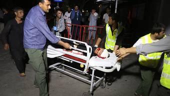 Bei der Explosion an einer Hochzeitsfeier in Kabul wurden auch Kinder verletzt.