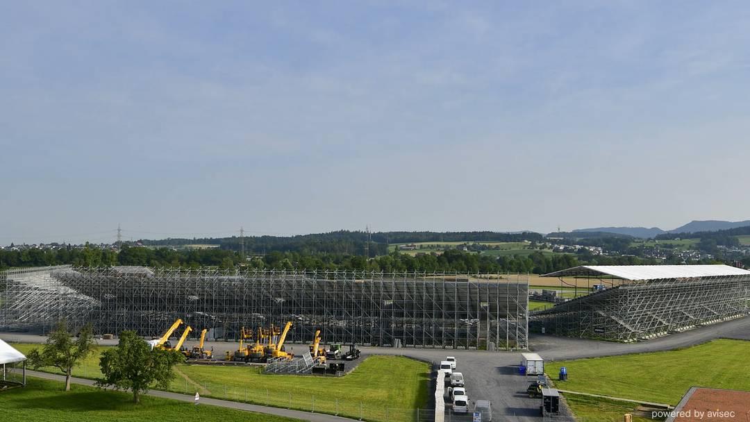 Vom leeren Feld zur Mega-Arena: ESAF-Stadionbau im Zeitraffer