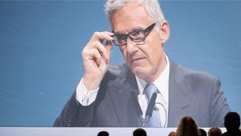 Viel Aktionärs-Opposition trotz Hilfe von US-Stimmrechtsberatern: CS-Verwaltungsratspräsident Urs Rohner.