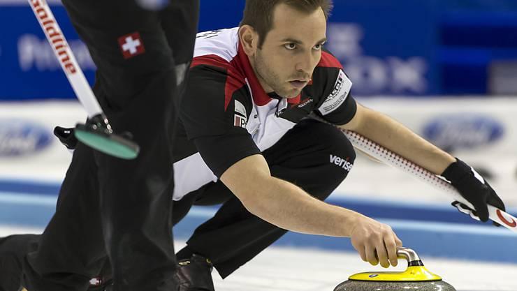 Sven Michel - ein erstklassiger Curler neu im Team des CC Genf