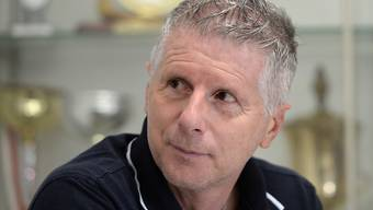 Winterthurs Trainer Livio Bordoli freut sich über den späten Ausgleich
