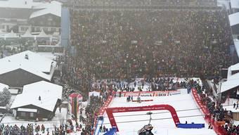 Der Skiweltcup in Adelboden kann stattfinden (Archiv)