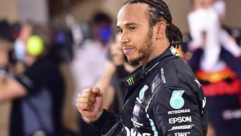 Lewis Hamilton ist nach seiner coronabedingten Zwangspause zurück