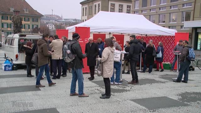 SP kämpft mit Kaffee gegen Dominanz von SVP und FDP