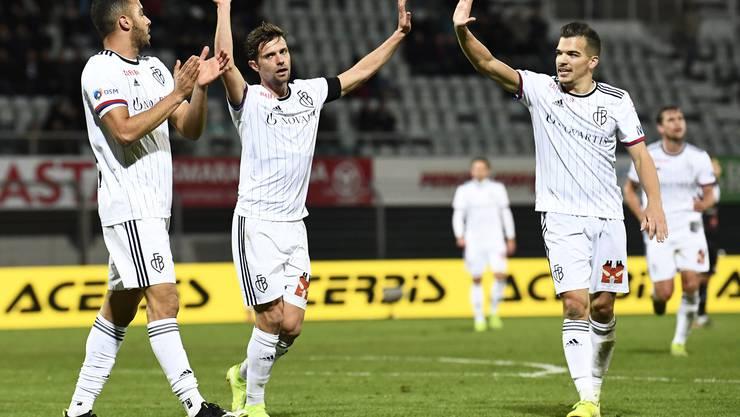 Der FCB feiert in Lugano einen ungefährdeten 3:0-Sieg.