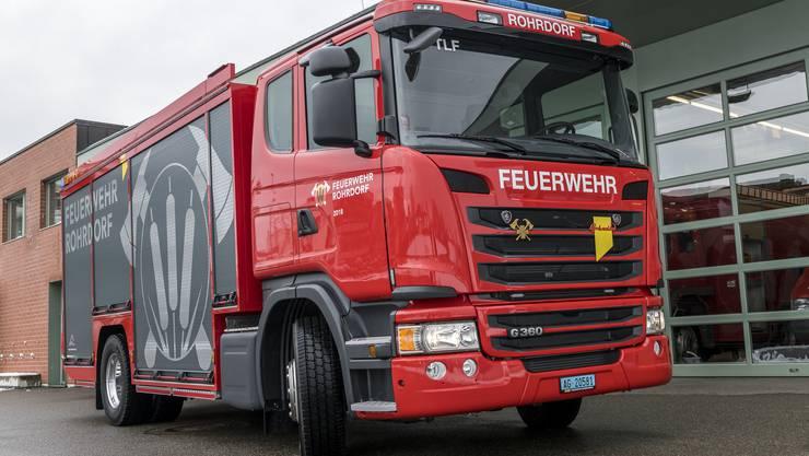 Neues Tanklöschfahrzeug der Feuerwehr Rohrdorf
