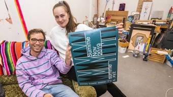 Atelierspartner und «Summe»-Gründer Chris Hunter und Lysann König.