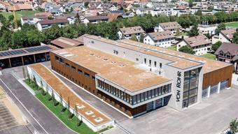 Das neue Betriebs- und Produktionsgebäude der von Rohr Holzbau AG an der Bifangstrasse in Egerkingen.