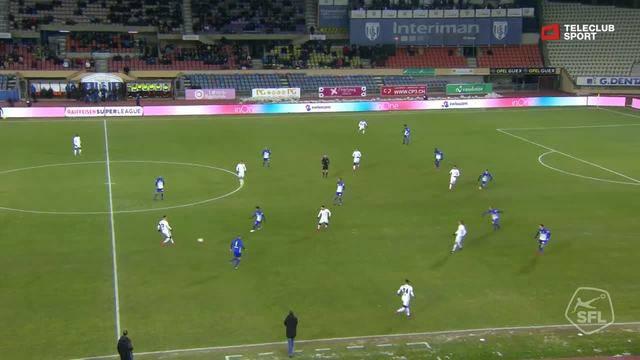 Super League, 2017/18, 17. Runde, FC Lausanne-Sport - FC Basel, Tor 0:1 (7. Min)