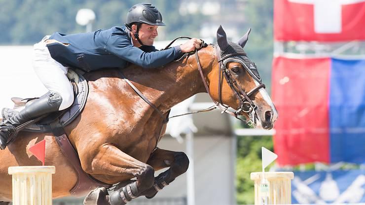 Elian Baumann sorgte in Ascona für die Überraschung und klassierte sich im 3. Rang