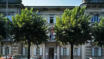 Das Bundesstrafgericht in Bellinzona (Archiv)