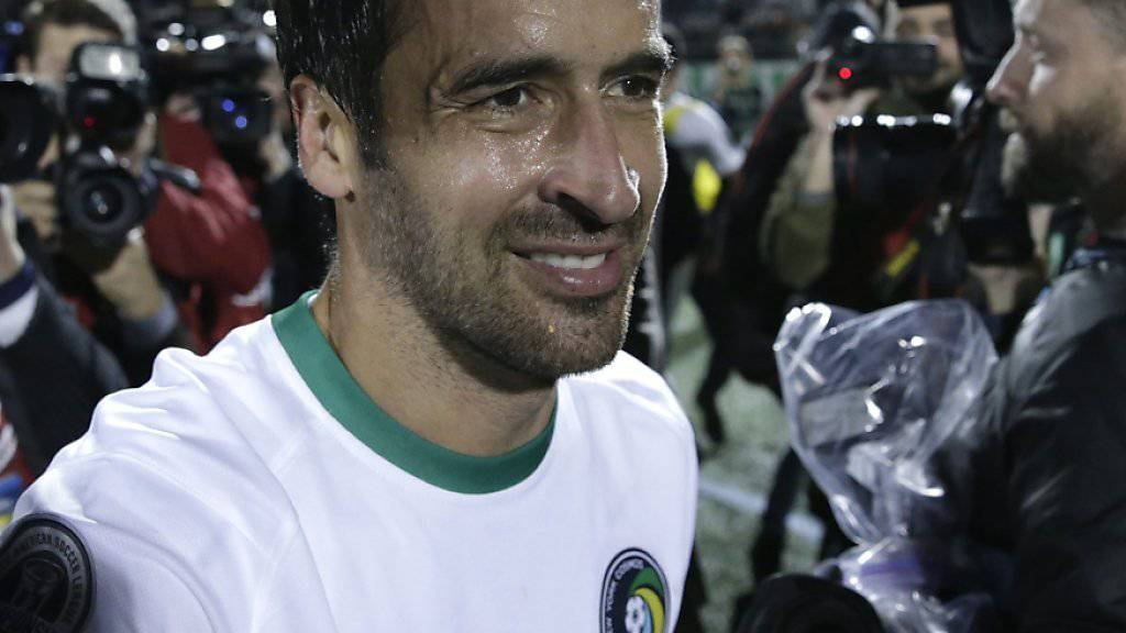 Raul war nach seinem letzten Spiel ein gefragter Mann
