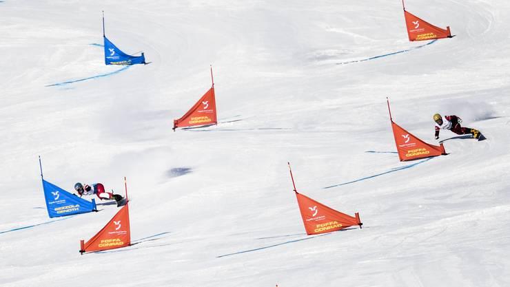 Kein Erfolg für die Schweizer Duos beim Parallel-Riesenslalom in Bad Gastein: Der Sieg geht an Österreich.