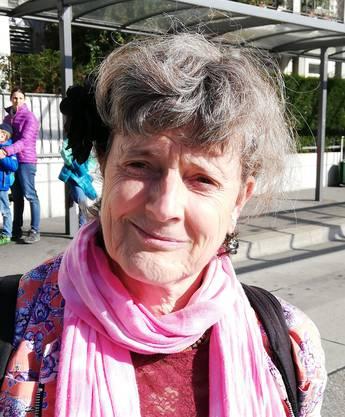 Marianne Baumgartner, 59, kommt aus Biberist und hat noch nicht gewählt. Auch sie wird es aber noch tun. Sie hat sich noch zu wenig mit den Themen auseinandergesetzt, um Bestimmtes von den Parlamentariern zu verlangen. (at)
