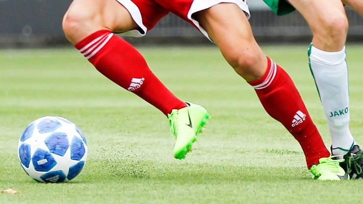 Ein Testspiel zwischen einer 5.-Liga und einer 4.-Liga-Mannschaft ging vorzeitig zu Ende. (Symbolbild)