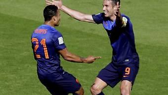 Holland in der Gruppenphase ungeschlagen