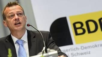BDP-Präsident Martin Landolt gab sein UBS-Mandat auf