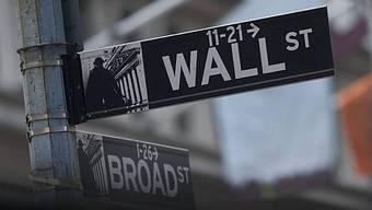 Börse in New York schliesst tiefer