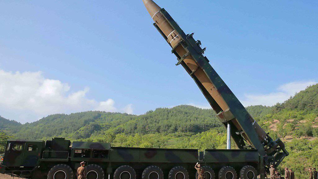 US-Geheimdienste warnen: Nordkorea kann mit seinen Raketen fast jedes beliebige Ziel in den USA treffen. (Archivbild)