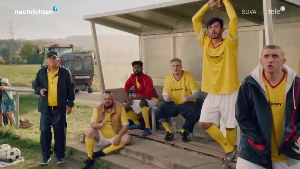 Suva mit Kampagne gegen Fussball-Unfälle