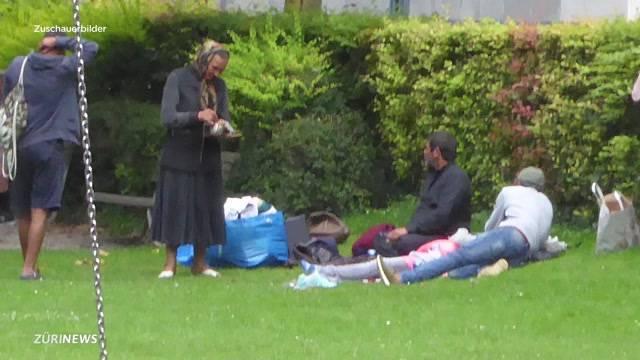 Immer mehr Bettler in Zürich