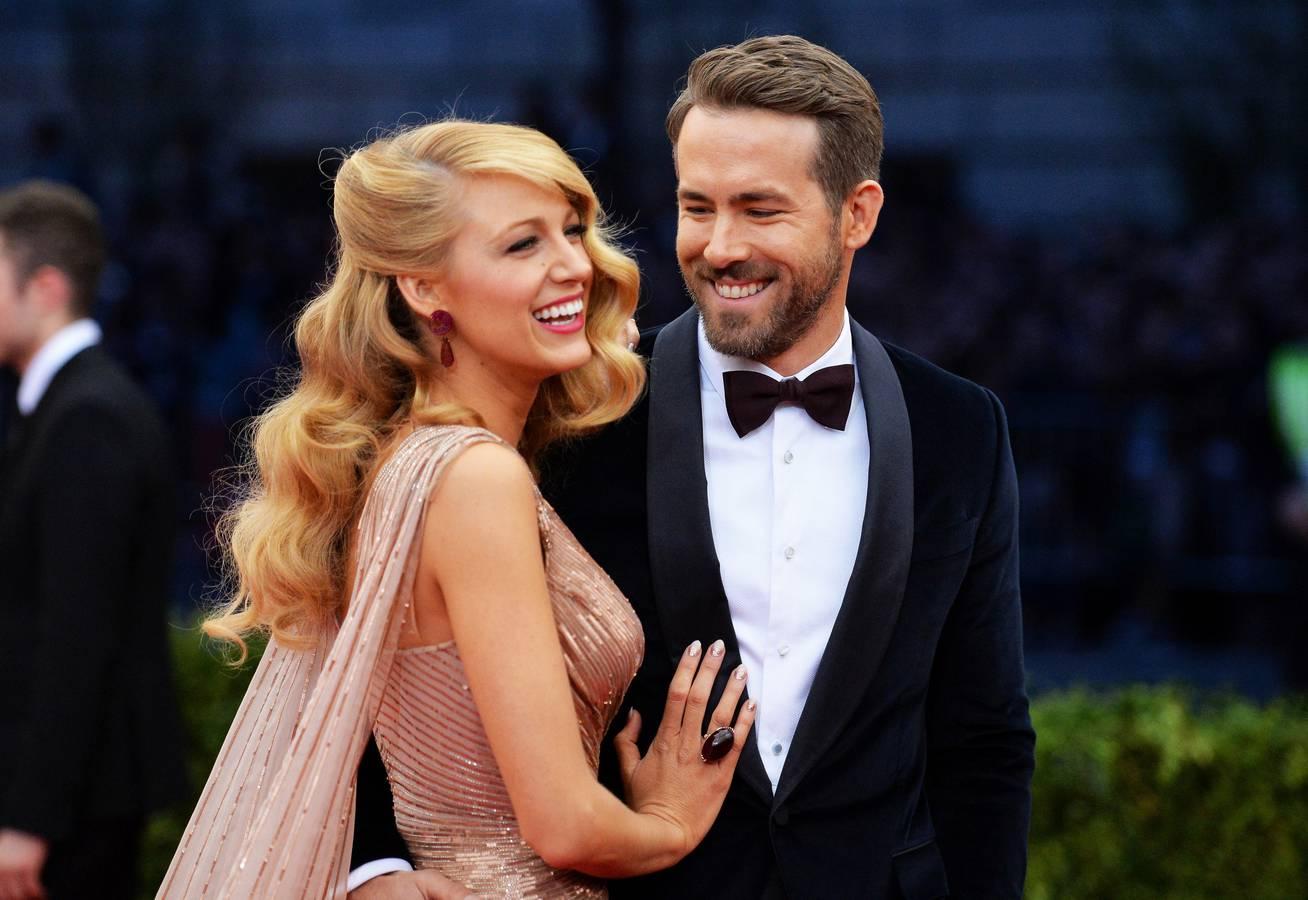 Blake Lively und Ryan Reynolds (© Getty Images)
