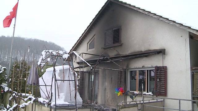 Gränichen: Brand bei Einfamilienhaus