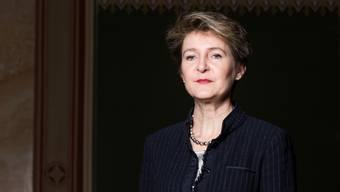 «Alle Achtung»: Bundesrätin Simonetta Sommaruga erhält Lob als neue Vorsteherin des Verkehrsdepartements Uvek.
