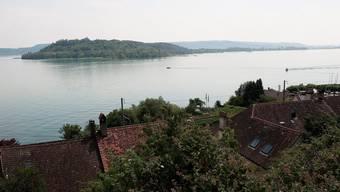 Der tot geborgene Schwimmer soll zwischen der St. Petersinsel und Twann im Bielersee unterwegs gewesen sein.