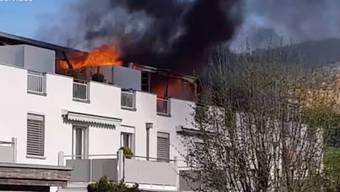 Wohnungsbrand Wangen b.Olten