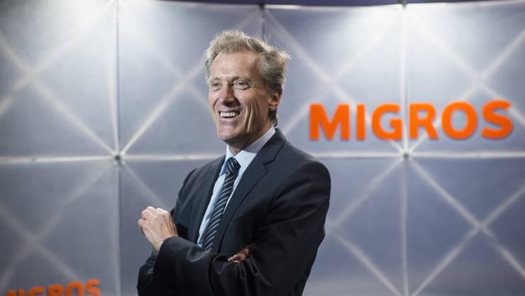 Herbert Bolliger ist seit zehn Jahren glücklich und loyal Migros-Chef (Archiv)