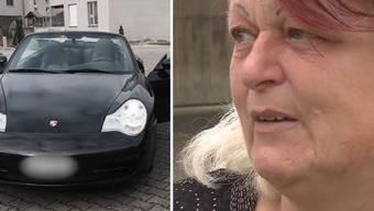 Christina Hartmann hat in einer 60-er Zone zwei Autos mit 121 Stundenkilometern überholt. Ihr Porsche wurde beschlagnahmt, den Führerausweis muss sie für zwei Jahre abgeben und ihr droht ein einjähriger Freiheitsentzug.